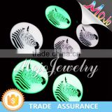 Printed Zebra Pattern Elegant Glow In The Dark <b>Costume</b> <b>Jewelry</b> with Cheap Prices for <b>Distributor</b>s