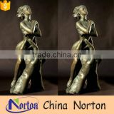 bronze casting nude woman sculpture for wholesale NTBH-S795X