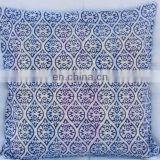 Cotton cushion cover handmade blcok print cushion cover indian pillow cover