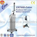 ER700B CO2 Fractional Laser Scar Removal Skin 0.1-2.6mm Resurfacing Fractional Co2 Laser Equipment Vagina Tightening