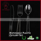 1000 sets Plastic Cutlery Combo Knives/Forks/Spoons