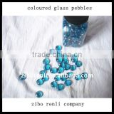 Pool Decoration Cobalt Blue Round Garden Glass Pebble