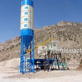 Automatic ready mixed HZS35 concrete batching plant