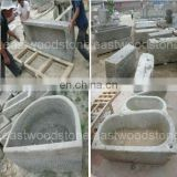 stone water troughs for garden decoration