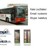 Pneumatic in-swing bus door system(Single panel and double panels)