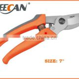 65Mn Carbon Steel With Steel Handle Secateurs