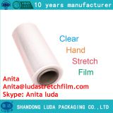 Stretch film hand with a film non-toxic and tasteless not broken