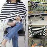 popular baby stripe pattern baby car seat cover canopy