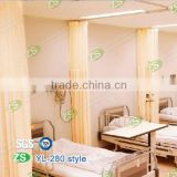 100% polyester flame retardant privacy continuous curtain fabric
