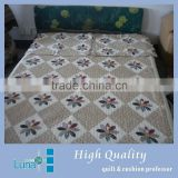 Thick printed quilt <b>bed</b> <b>cover</b> D005