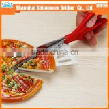 china pizza tools manufacturer hot sale stainless steel pizza scissors for party