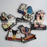2d DUBAI scenery rubber fridge magnet for souvenir gifts