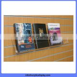 New promotional clear slant acrylic sign holder