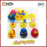 Baby bath toy vinyl rubber duck