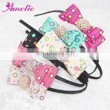 2014 Polka Dot DIY Ladies Fashion Hairband with Bows