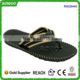 2016 New Handmade Summer Nude Beach Flip Flops For Men Outdoor Slippers