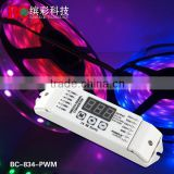 Bincolor DMX512 to 0-10v LED dimming signal converter