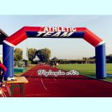 10m Finish Line Outdoor Inflatable Arch for Sports and Event