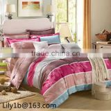 China bed linen manufacturers 100% cotton jacquard bedding set