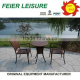 high quality round rattan portable lounge chair