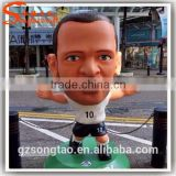 Alibaba China Life Size Decorative Cartoon Rasin Statue Molds for Sale