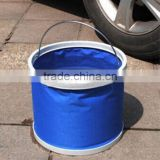 Top Sale high quality Collapsible Bucket 9L Portable Outdoor Folding Water Wash Bucket