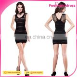 Fashion Sexy Black Fishnet Dress Wholesale In Stock Cheap Body Stocking