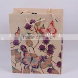 Foldable Printed Gift Bag / Paper Shopping Bag