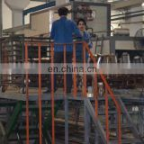 Factory made fire extinguisher inside powder coating machine 220 cylinder/hour