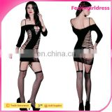 Sample Free New Style Arrival Hollow out Sexy Black Fashion Sexy Body Stocking