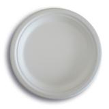 JUST disposable compostable food packaging sugarcane Plate7''