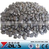 Black Pebble Stone Natural River Stone For Landscaping