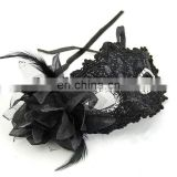 Sexy Women Black Lace Eye Face Mask Masquerade Ball Prom Halloween Costume Party FM2014