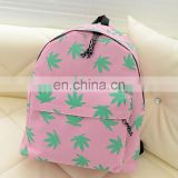 Personalized natural picture of school bag