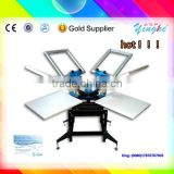 manual operation and advanced technology oblique mouse pad screen printing machine for selling now