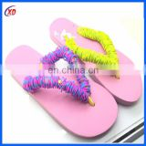 2016 China fashion new design eva slipper/ eva flip flops