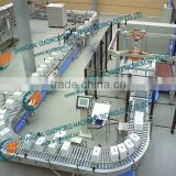 width adjustable international food grade belt conveyor equipment