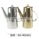 1.5-2 liter stainless steel water bottle /ynxn titanium color water pot stainless steel water kettle / fancy water kettle