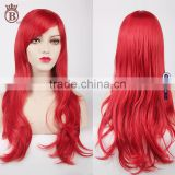 70cm Solid Color Long Curly Big Wave Synthetic Cosplay Party Wigs