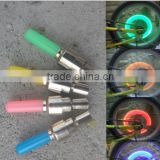 Novel Mountain Bike Air Valve Core Lamps Bicycle Light Stick For Shrade Valve And Dunlop Valve