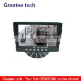 factory best 7 inch tft Car Rearview Monitor for vehicles 4-CH inputs