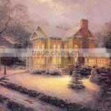 Thomas Style Chrismas Oil Painting on Canvas