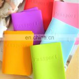 Factory directly price durable silicone passport book cover
