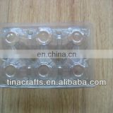 6 pcs Egg Plastic blister tray