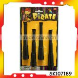 long pirate eye patch pirate toys with EN71