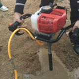 Geotechnical hand held core sample drilling machine