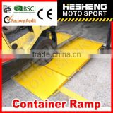 HESHENG 2014 HOT Steel Manual Loading Container Ramp CE approved