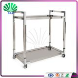 High Quality Commercial Hotel Trolley Metal Decoration Cart Hand Trolley