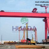 high quality 250ton door type shipbuilding gantry crane in oman