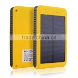 New arrival 2015 10000mah solar battery charger for mobile phone